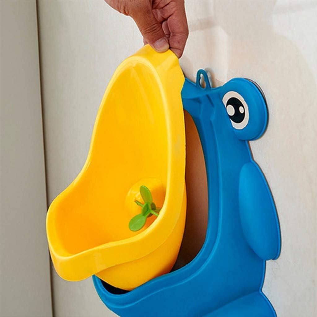 Noblik Baby Boy Potty Toilet Training Rocket Children Stand Vertical Urinal Infant Boys Pee Adjustable Wall-Mounted Children Boy Urinal-Green