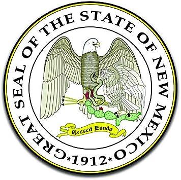 Arkansas State Seal USA Car Bumper Sticker Decal 5/'/' x 5/'/'