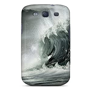 ELu1629Epgc Anti-scratch Case Cover Rewens Protective Monster Wave Case For Galaxy S3