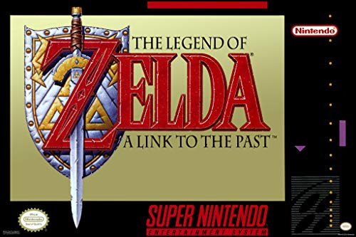 Pyramid America Legend of Zelda A Link to The Past SNES Video Game Gaming Cool Wall Decor Art Print Poster 12x18 (Legend Of Zelda Link To Past)