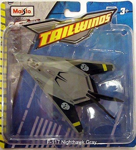 Gray Jet (Maisto Fresh Metal Tailwinds Gray F-117 Nighthawk Stealth Fighter Jet)