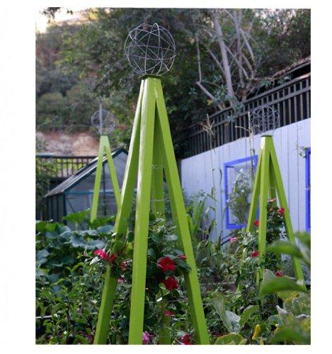 - Terra Trellis Akoris Garden Tuteur Sr. (Leaf/Chartreuse)