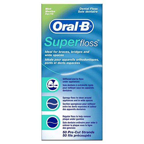 Oral B Dental Floss, 50 Each