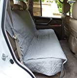 Formosa Covers Deluxe Quilted and Padded Back Seat Bench cover - One size fits all 56'' W Grey