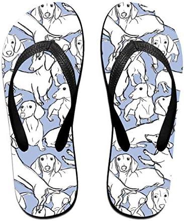 ビーチシューズ ダックスフンド ビーチサンダル 島ぞうり 夏 サンダル ベランダ 痛くない 滑り止め カジュアル シンプル おしゃれ 柔らかい 軽量 人気 室内履き アウトドア 海 プール リゾート ユニセックス