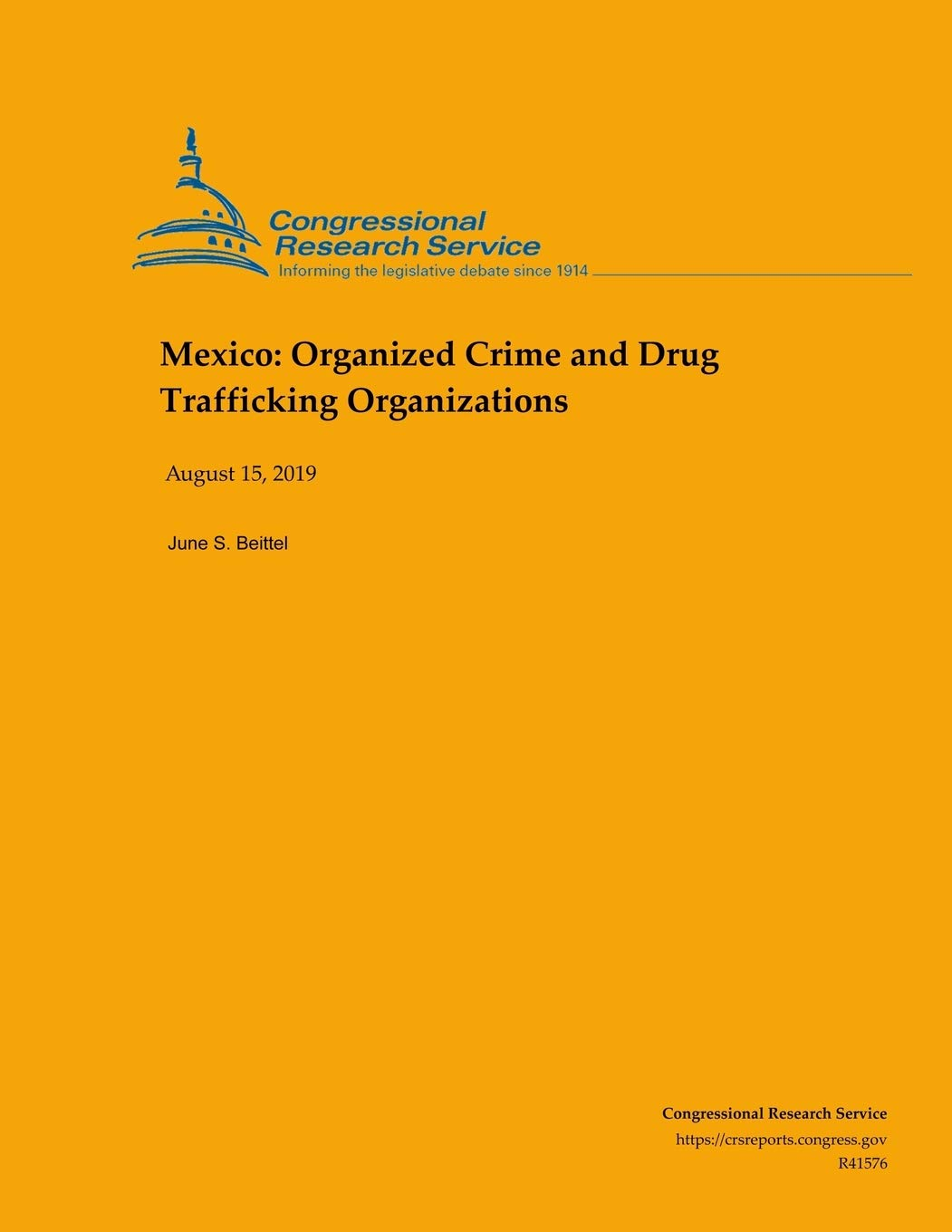 Mexico: Organized Crime and Drug Trafficking Organizations ...