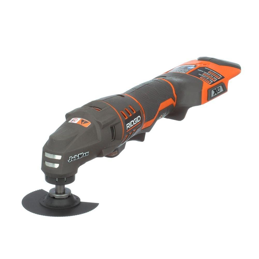 RIDGID R862004 JobMax 18-Volt Console Multi-Tool Battery and Charger not Included by Ridgid