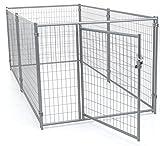 Lucky Dog Modular Welded Wire Kennel - 6' x 5' x10'