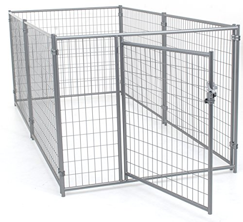 Lucky Dog Modular Welded Wire Kennel - 6' x 5' x10'