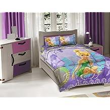 3 Piece Disney Tinkerbell Fairy Wonder Full Comforter Set