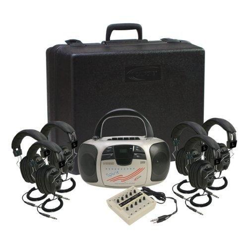 Ergoguys CALIFONE SPIRIT LISTENING CENTER W/ 6HEADPHONE VIA 1776PLC-6