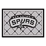 FANMATS NBA San Antonio Spurs Nylon Face 5X8 Plush Rug