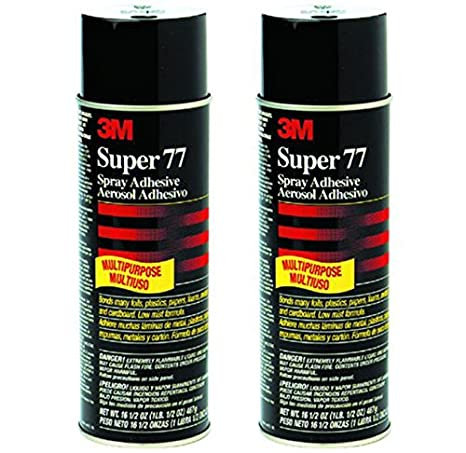 3m headliner spray adhesive instructions