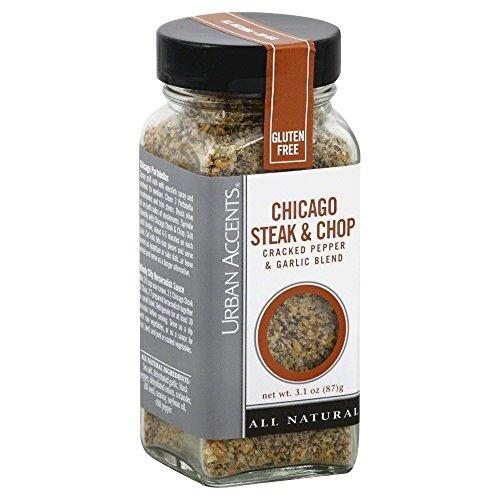 Chicago Steak & Chop Cracked Pepper & Garlic Blend (Pack of 4)