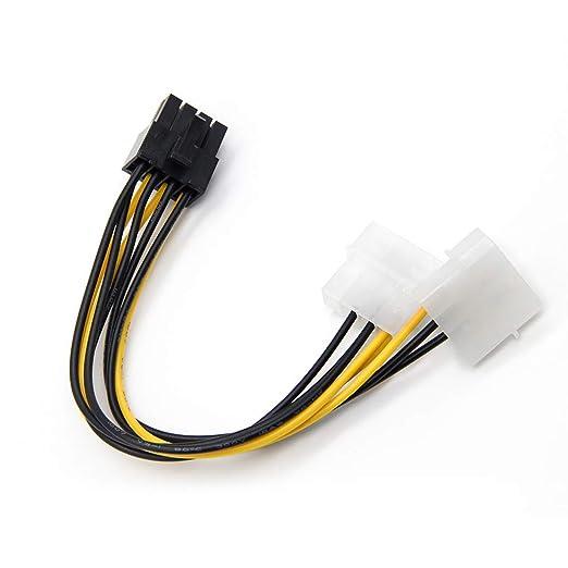 Dual 4P 8P a la Tarjeta gráfica del Cable de la línea ...