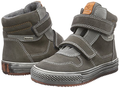Alte Richter Bambino rock 77 mandarin 6611 Grau Sneaker Omero Kinderschuhe pebble IIqa1