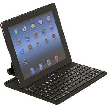 ESTUCHE con TECLADO BLUETOOTH NEW TRENT IMP38B iPad 2 y Nuevo iPad (3)