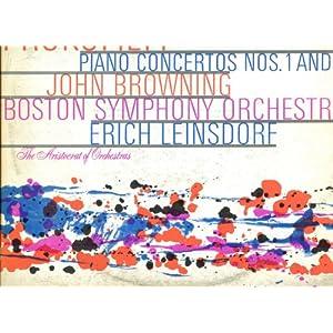 BSO BROWNING LEINSDORF PROKOFIEV PIANO CONCERTOS 1 & 2