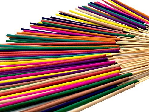 Green Natural Incense Sticks Variety Pack With Assorted Flavors For Every Mood Aromatherapy Fragrance Incense Stick. 10 Different Flavors, Great Smells For SPA and Nice Gift Set - incensecentral.us