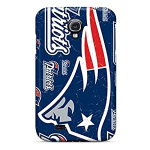 Shock-dirt Proof New England Patriots Case Cover For Galaxy S4