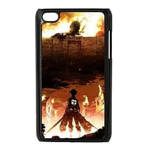 Attack On Titan iPod Touch 4 Case Black TPU Phone Case SV_187992