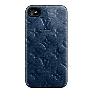 UbkHTFA8635eszdi Faddish Lv Monogram Blue Case Cover For Iphone 4/4s