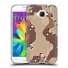 Head Case Designs Desert Six Colour Military Camo Soft Gel Case for Samsung Galaxy Core Prime