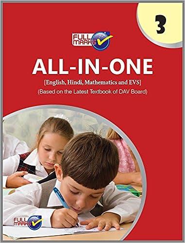 ALL-IN-ONE English, Hindi, Mathematics and EVS Class 3 DAV