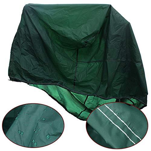 JS-YHLUSI Cubierta Protectora (Verde), Mesa Silla Cuadrada Guardia contra El Polvo (Actualización), Poliéster Impermeable...