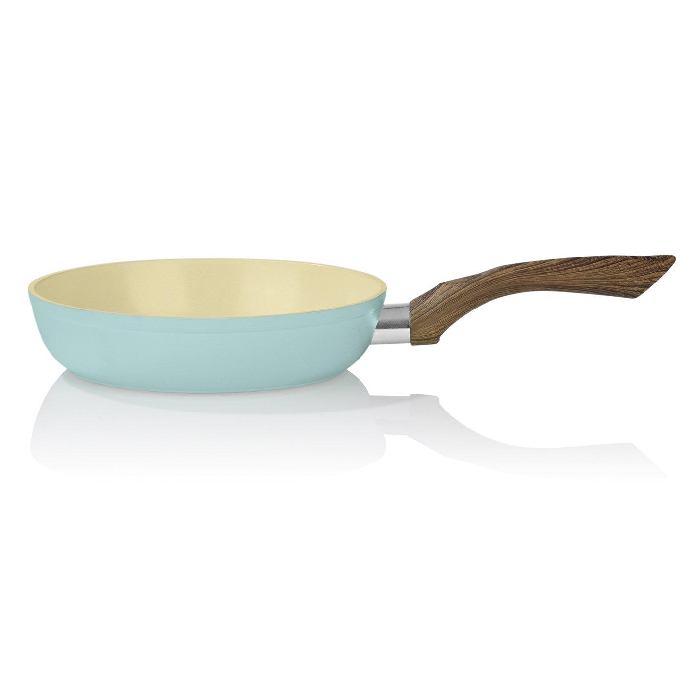 Bratmaxx Juego de Sartenes 00461 | Sartenes de Cerámica, 20 cm, 24 cm, 28 cm, para Todos los Tipos de Cocina (con Inducción) | backofengeeignet ...