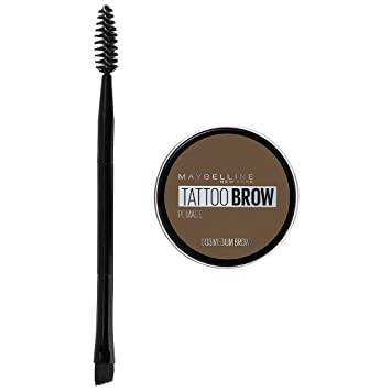 d5e1e75a016 Maybelline Tattoo Brow Pomade Pot, Medium Brown: Amazon.co.uk: Beauty
