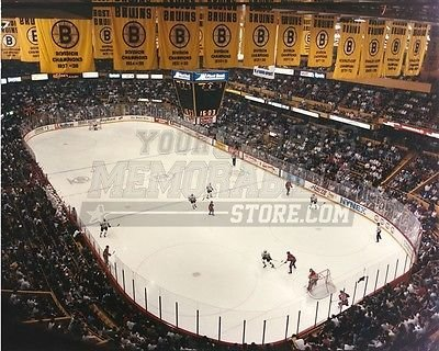 Boston Bruins Boston Garden banner aerial game view 8x10 11x14 16x20 photo 673 - Size 11x14