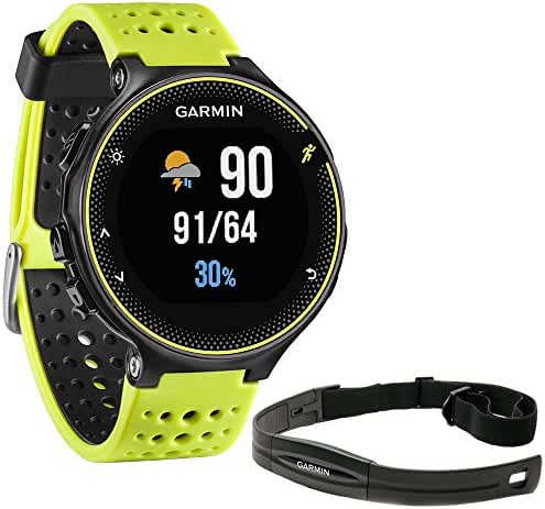 Garmin Forerunner 230 GPS Running Watch, Force Yellow (010-03717-50) with Heart Rate Monitor