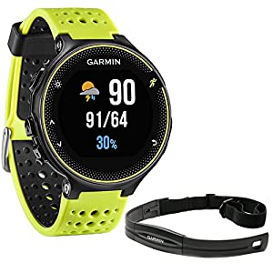 Beach Camera Garmin Forerunner 230 GPS Running Watch, Force Yellow (010 03717 50) with Heart Rate Monitor