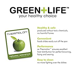 GreenLife Gourmet Healthy Ceramic Non-Stick Hard Anodized 12\