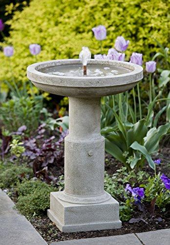 Campania International FT-106-BR Powys Fountain, Brown Stone Finish ()