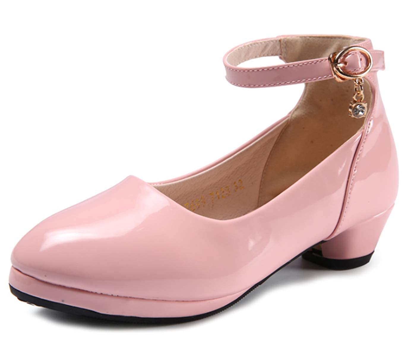 Scothen Prinzessin Gelee Partei Absatz-Schuhe Sandalette St/öckelschuhe Ballerina Schuhe Festliche M/ädchenschuhe Taufschuhe Kommunion Hochzeit Feier f/ür Kinder