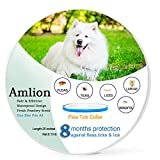 Dog Flea Treatment Collar - Flea and Tick Prevention for Dogs-Prevents,Kills, Repels,Fleas, Ticks and Lice,Water Resistant,8 Months Protection for Small,Medium and Large Dogs