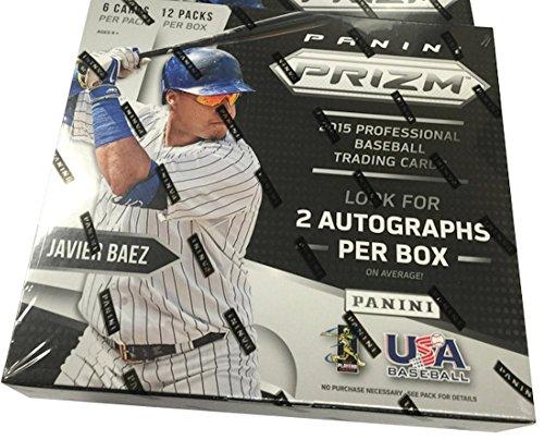 2015 Panini Prizm MLB Baseball HOBBY box (12 pk)