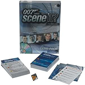 Mattel Scene It? The DVD Game - James Bond Expansion Pack