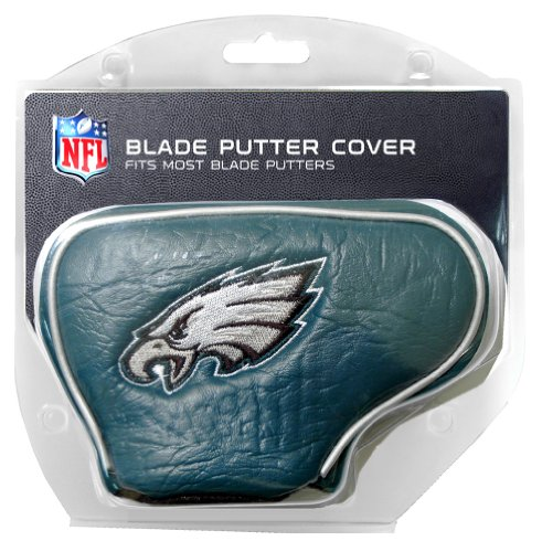 (Team Golf NFL Philadelphia Eagles Golf Club Blade Putter Headcover, Fits Most Blade Putters, Scotty Cameron, Taylormade, Odyssey, Titleist, Ping, Callaway)