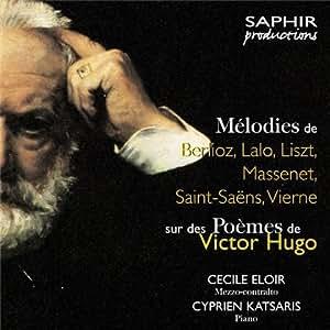 Mélodies sur des poèmes de Victor Hugo