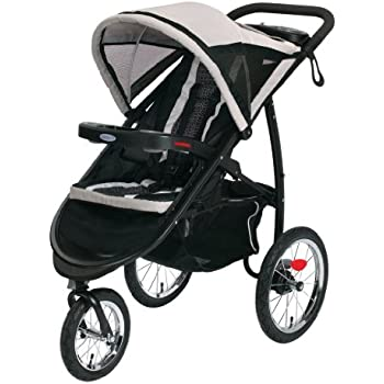 Graco FastAction Fold Jogger Click Connect Stroller, Pierce (Discontinued by Manufacturer)