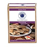 Onesto Foods Gluten-Free, Vegan, Non-GMO Artisan Crackers, Everything (Pack of 3)