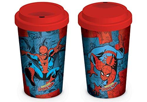 Spider-Man Comic Travel Mug