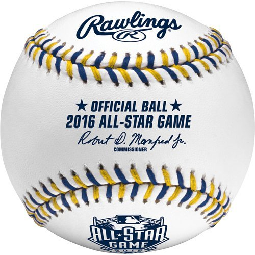 (Rawlings 2016 All Star Official MLB Game Baseball San Diego Padres - Boxed)