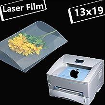 "50 sheets,13""x19"",NEW Premium Laser Printing Transparency Film Paper for Silk Screen Printing"