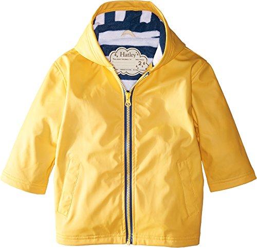 Hatley Boys' Little Splash Jacket, Classic Yellow, 3