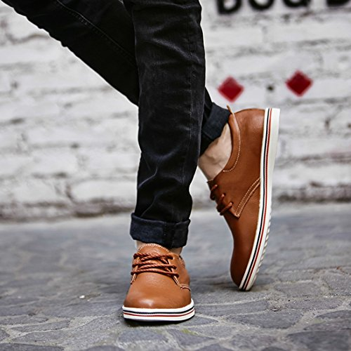 Marrone 5 LHEU LH918 39 Sneaker EU Minitoo Brown Uomo Dark 7ITBAw8