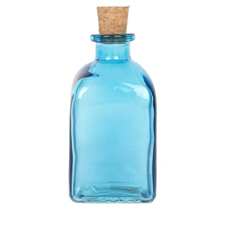 Aceite de oliva Outpost EVOO y vinagre dispensador Premium cristal 250 ml botella corcho natural (